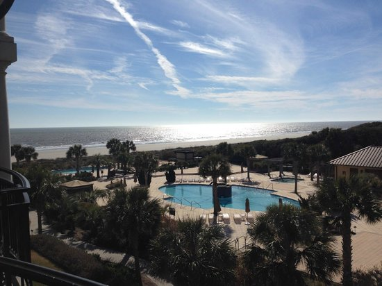 The Sanctuary Hotel at Kiawah Island Golf Resort: Ocean Room view