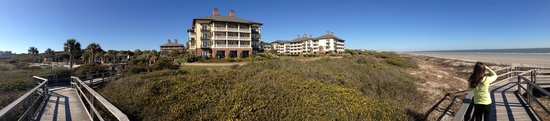 The Sanctuary Hotel at Kiawah Island Golf Resort : From the beach