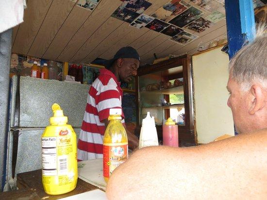 Cuz's Fish Shack: Best Flying Fish Sandwich in Barbados