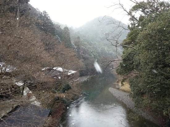 Momijiya Bekkan Kawa no Iori : Snow!