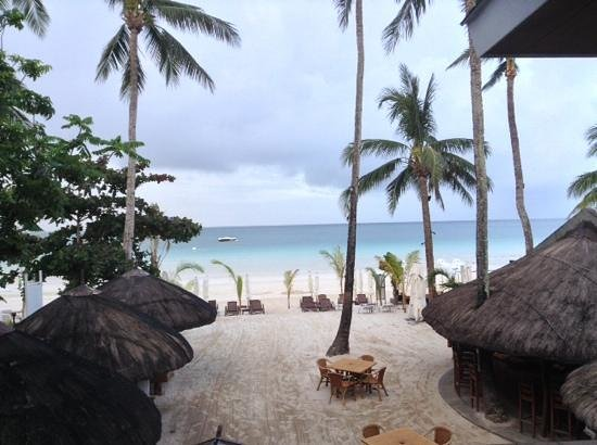 Sur Beach Resort: view from our superior beach front room