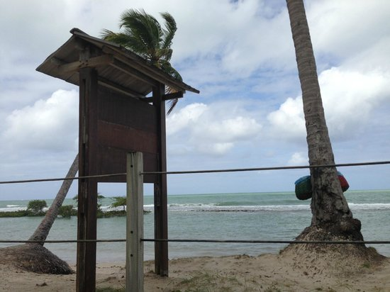 Carneiros Beach: praia ao final do dia