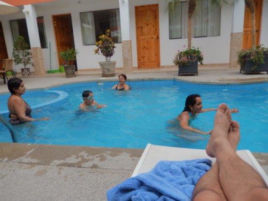 Hotel Las Flores : Mi familia feliz
