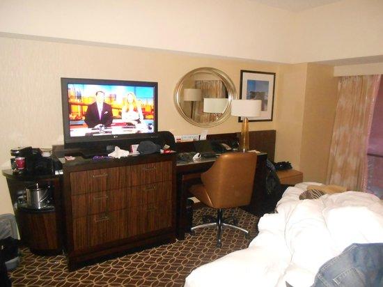 New York Marriott Marquis : la chambre