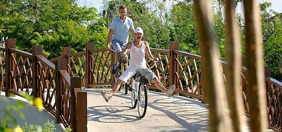 Fairmont Mayakoba: Bike tour