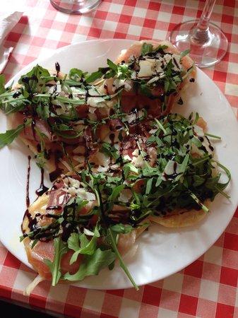 La Bottega Delitalia: Bruschetta con Parma ham