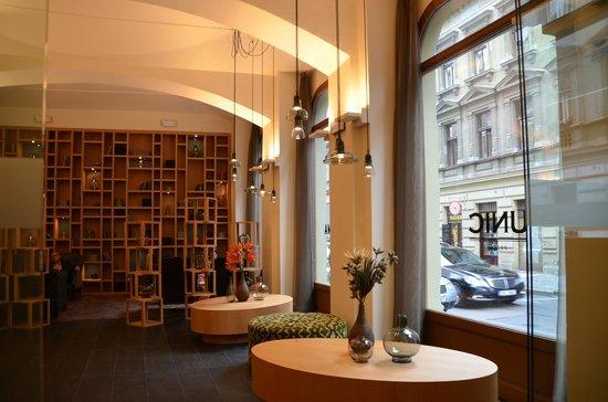 Hotel UNIC Prague: reception