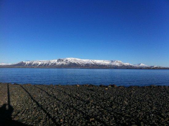 Hilton Reykjavik Nordica : View westward