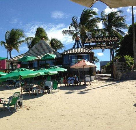 Munganga Bistro : Fachada praia