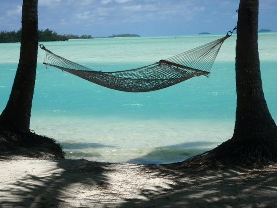 Aitutaki Lagoon: The perfect place to relax at the lagoon