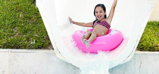Fairmont Mayakoba: Water slide