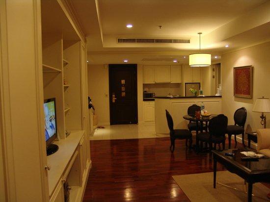 Centre Point Hotel Silom: Particolare dell'appartamento (90 mq.)