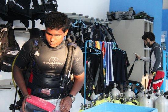 Maafushi Dive & Water Sports: Dive Instructor at Maafushi Dive
