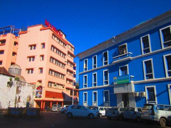 Hotel Mandovi beside State Bank of India, Panaji Goa