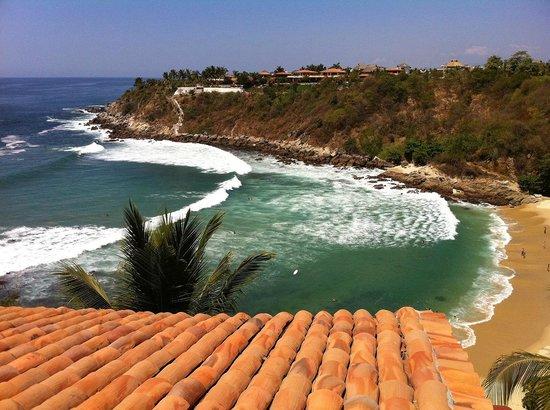 Villas Carrizalillo: beach