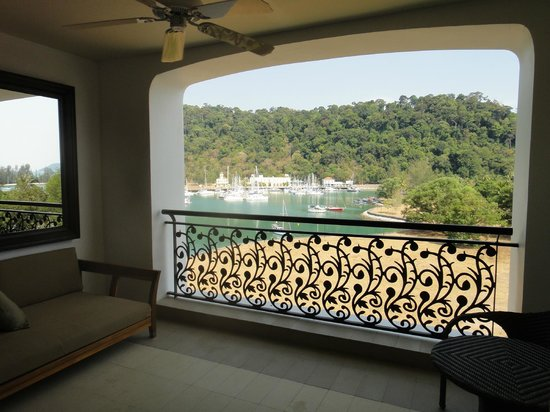 The Danna Langkawi: room view from terrace