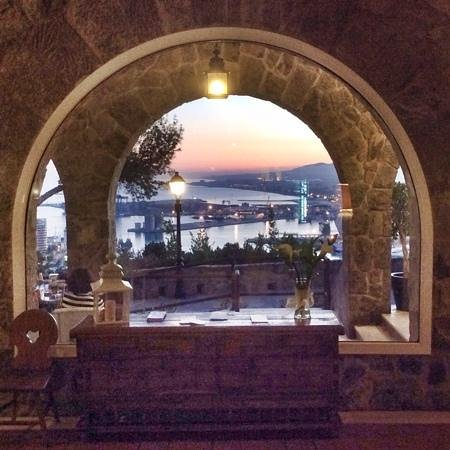 Parador de Malaga Gibralfaro: from the lobby