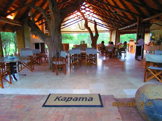 Kapama Southern Camp: Dining area at Southern Camp
