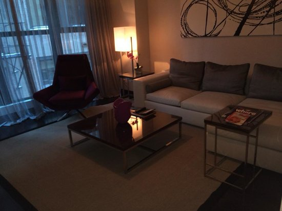 Ivy Boutique Hotel : The living room