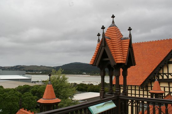 Government Gardens: The lake from the roof of the Museum