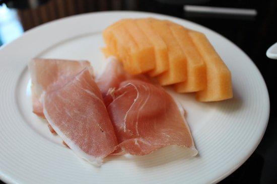 Gold by Harlan Goldstein: Parma Ham w/ Rock Melon