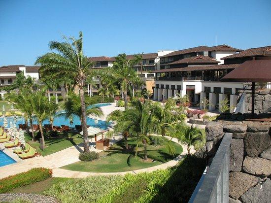 JW Marriott Guanacaste Resort & Spa : Pool from thrid room terrace