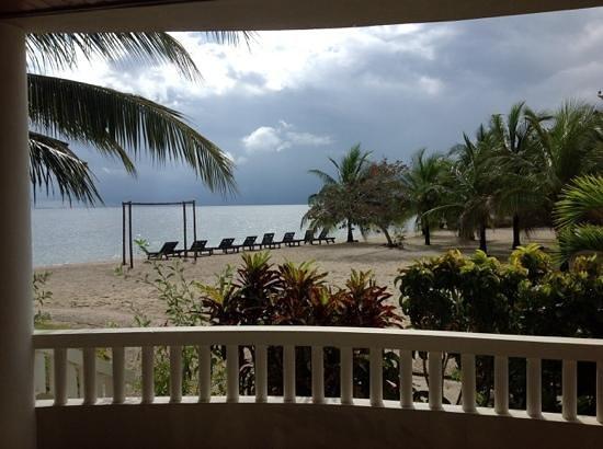 Los Porticos Villas: View from our room
