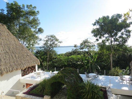 Camino Real Tikal : vista del lago