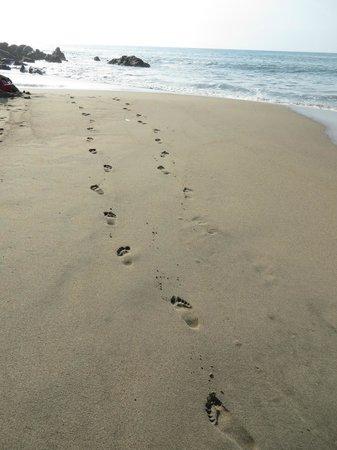 Afternoon stroll along Playa de los Muertos heading south