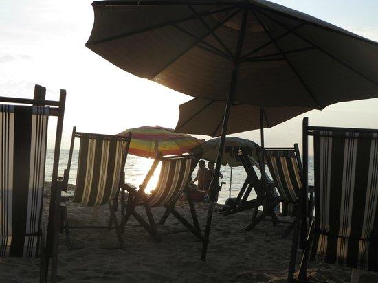 Playa de los Muertos : Drinks at sunset