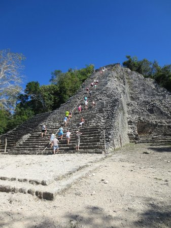 At Your Service Cancun - Day Tours : Coba ruin