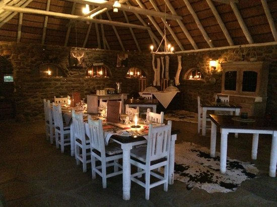 The Elegant Farmstead: Dinner setting