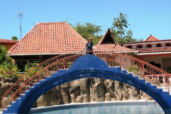 Hotel San Bada: Pool area