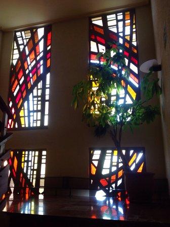 Hotel rey Sancho Ramírez: Interiores