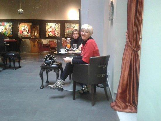 Borghese Palace Art Hotel: Sala colazione