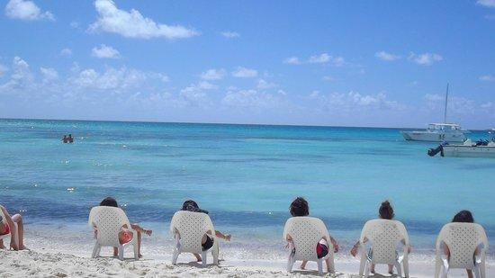 Saona Island: Beautiful view of the Caribbean