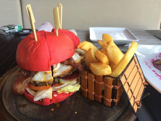 Zazada Beach Club: Beetroot Hamburger