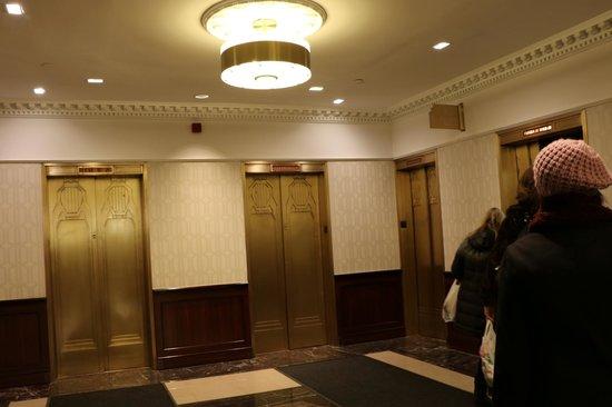 The New Yorker A Wyndham Hotel : Ascensores rápidos