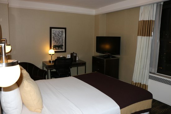 The New Yorker A Wyndham Hotel : Amplia y cómoda