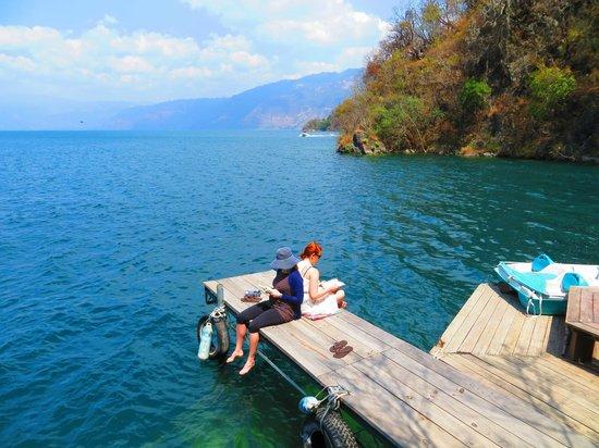 Kaalpul Atitlan Eco Hotel & Spa: Enjoying TOSA.