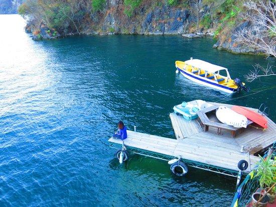 Kaalpul Atitlan Eco Hotel & Spa: Hotel dock