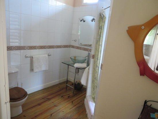 The Lily Pond House Hotel: Top floor bathroom