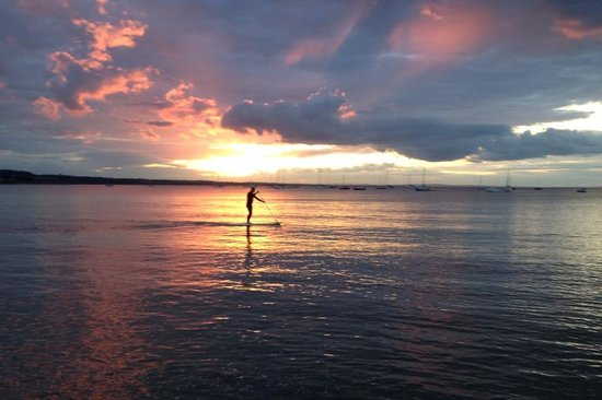 Skerries, İrlanda: Sunset paddle with Outdoor Dublin