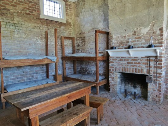 Fort Clinch State Park : barracks