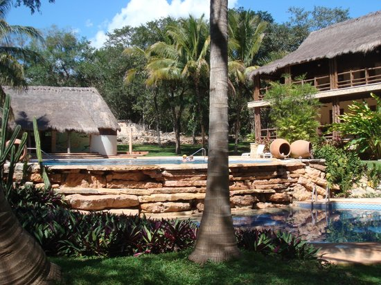 Hotel Hacienda Uxmal Plantation & Museum: piscne