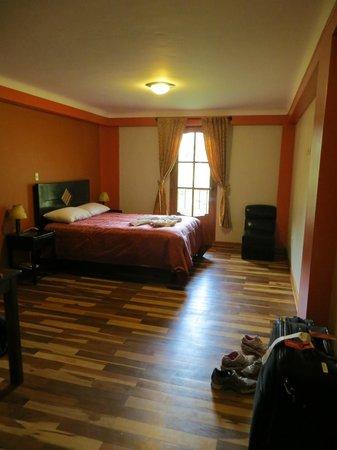 Tunupa Lodge: our room