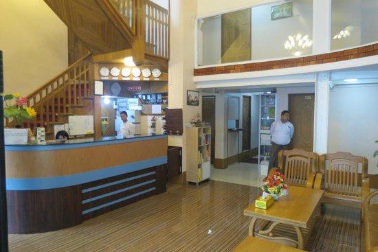 Aung Tha Pyay Hotel: Reception/Dining