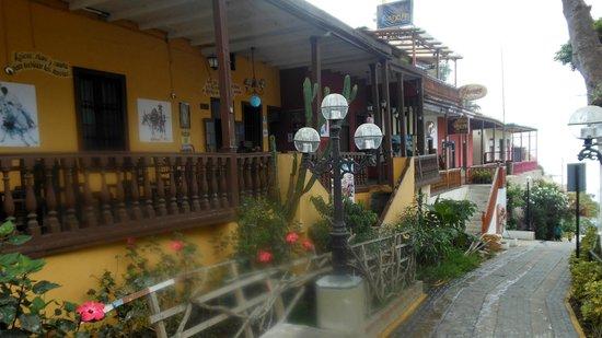 Barranco: Bajada de Baños