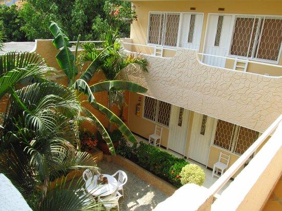 Hotel Casa D'mer Taganga : Corredor segundo piso con saliendo de la terraza