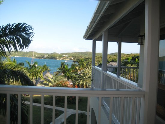 Nonsuch Bay Resort: view from balcony